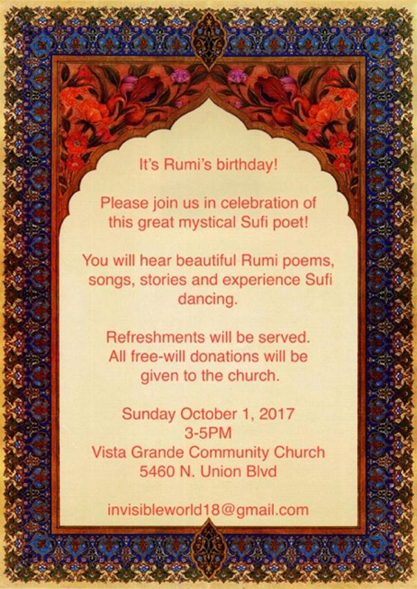 Rumi Celebration
